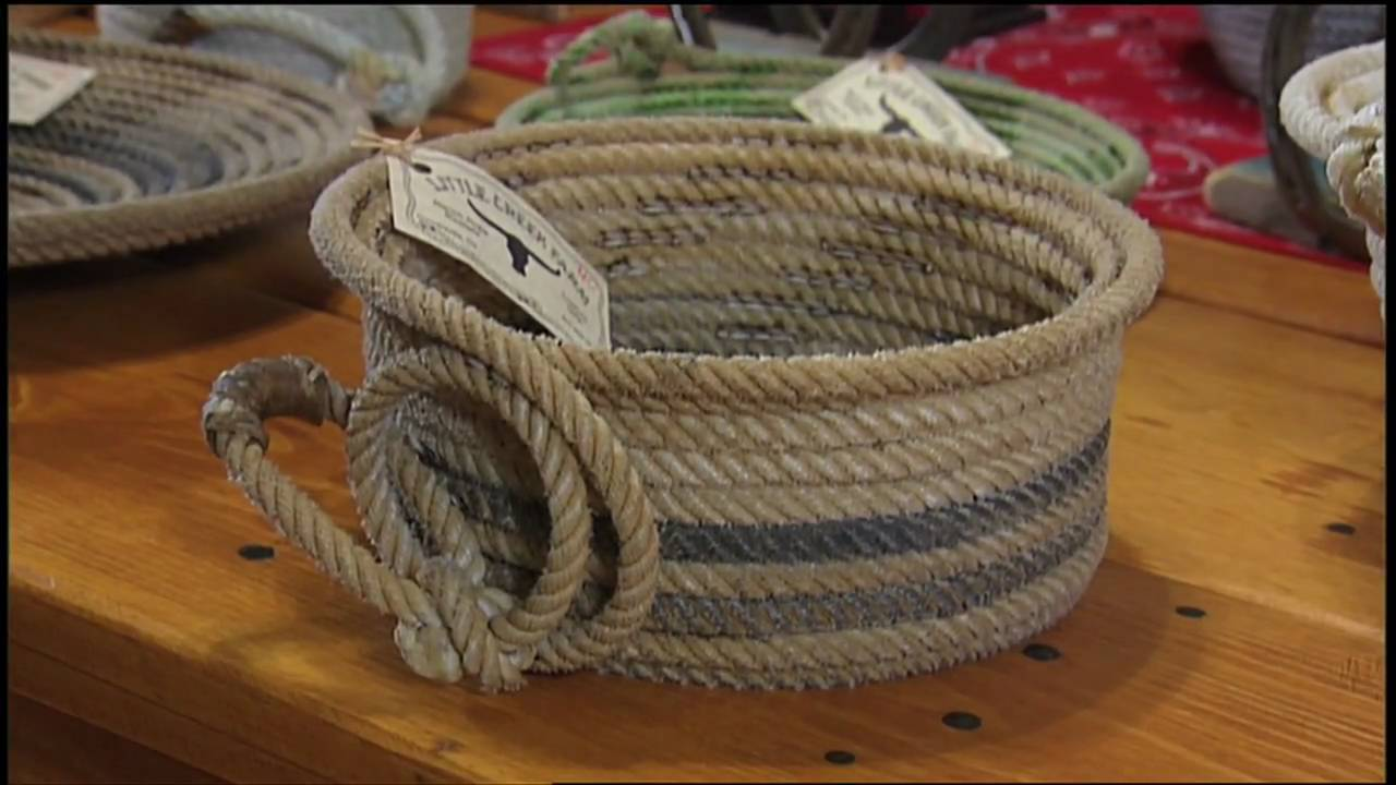 Cowboy Rope Baskets Tennessee Crossroads Youtube