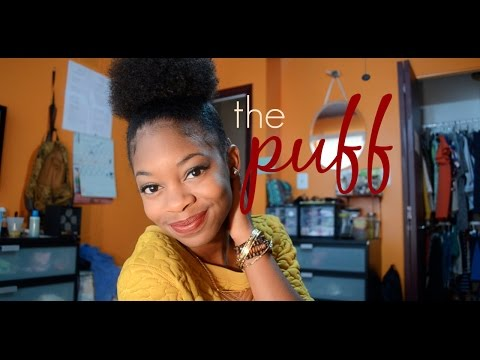 How To: Fake The Puff On Short Natural Hair video