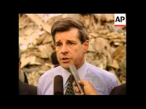 Iraq's US administrator on Un bombing