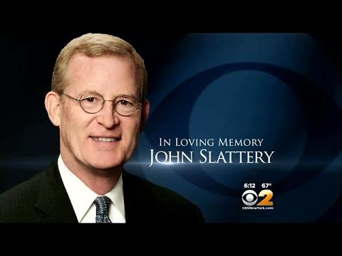 Family, Friends Bid Final Farewell To Longtime CBS 2 Reporter John Slattery