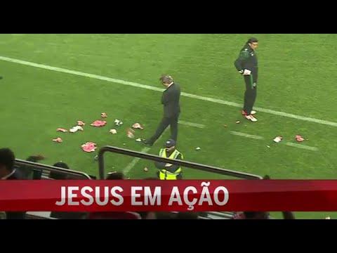 """Jorge Jesus em """"acção"""" durante o dérbi benfica 0 - Sporting 3 (25/10/2015)"""