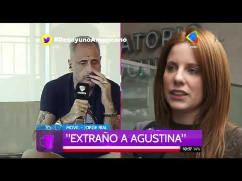 Jorge Rial: Con Agustina nos preguntamos por qué no estamos juntos