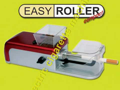 Easy Roller Compact, new electric cigarette nachine