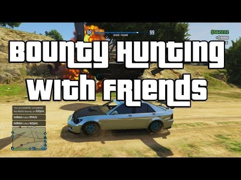 GTA 5 Online Bounty Hunting & Cop Roleplaying! Fun With SpeirsTheAmazingHD