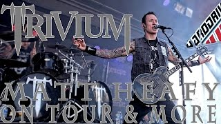 MATT HEAFY of TRIVIUM talks going from rookie to veteran and SILENCE IN THE SNOW