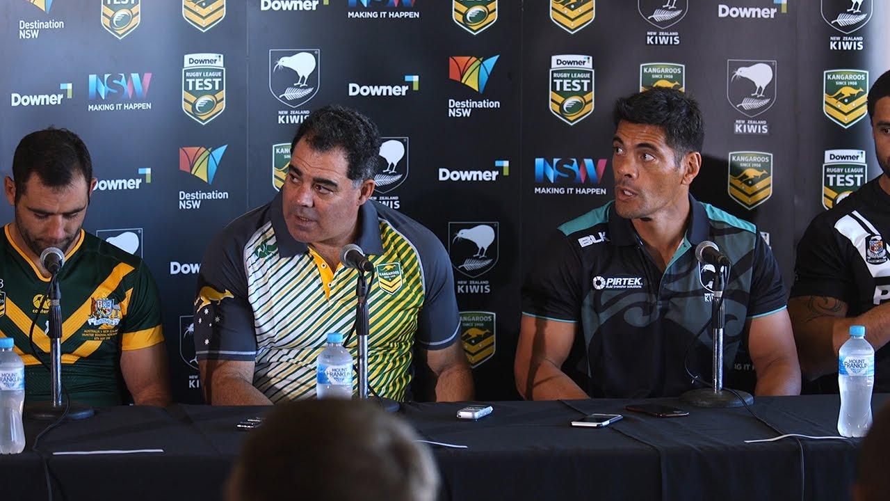 Australia v New Zealand combined Press Conference