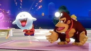 Super Mario Party - Gold Rush Mine (Boo, Donkey Kong, Bowser & Luigi)   MarioGamers