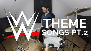 WWE Wrestling Theme Song Medley Drum Cover PT. 2