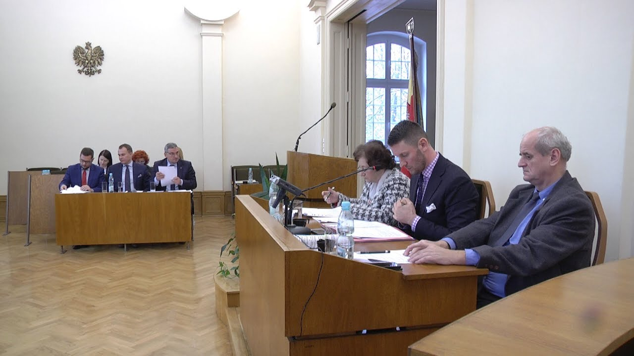 XLIII sesja Rady Miejskiej, część I