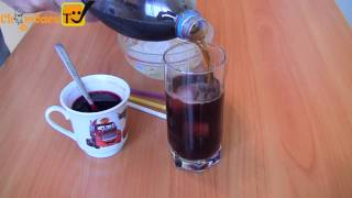 Напиток из пепси-колы с каркаде / Летние охлаждающие напитки