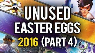 Best Unused Video Game Easter Eggs of 2016 (Part 4)