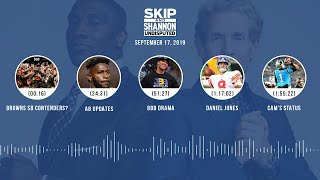 UNDISPUTED Audio Podcast (9.17.19) with Skip Bayless, Shannon Sharpe & Jenny Taft | UNDISPUTED