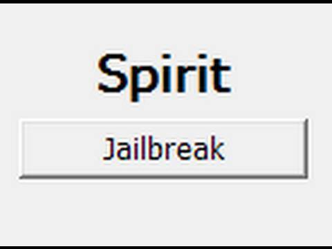 Spirit Untethered Jailbreak for iPhone, iPad and iPod touch on 3.1.3 and 3.2