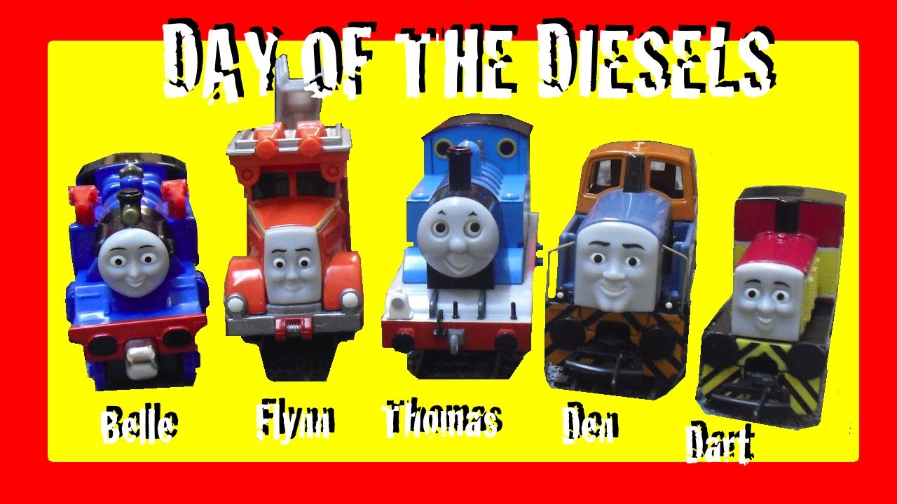 Day of the Diesels! Toy Review & Competition! Take'n'Play ...