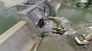Dam Removal Day 2 Afternoon