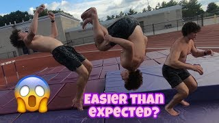 Learning How To Backflip In One Day? | XCTV Episode 5