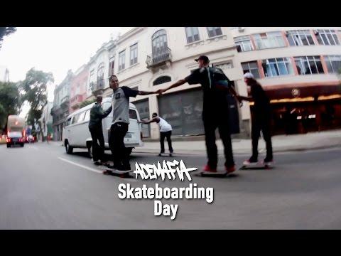 Ademafia Skateboarding Day