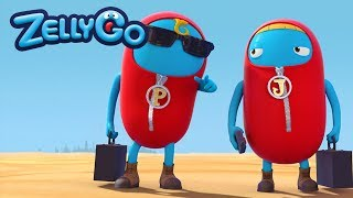 ZellyGo - The Appearance Of Jojo And Popo | HD Full Episodes | Funny Cartoons for Children