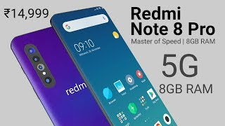 Xiaomi Redmi Note 8 Pro 5G Introduction - Price specs and release date