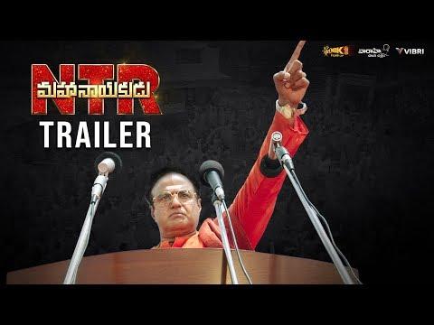 #NTRMahanayakudu Official Trailer | Nandamuri Balakrishna, Rana Daggubati, Vidya Balan | Krish thumbnail