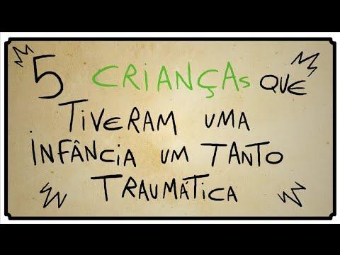 5 CRIANÇAS QUE TIVERAM UMA INFÂNCIA TRAUMÁTICA
