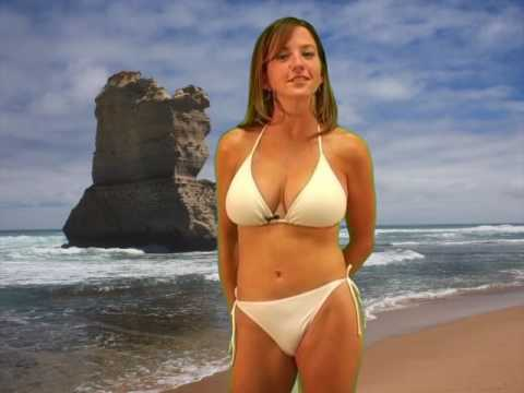 Bikini Facts 2, Hot Facts Babe Model Rebecca