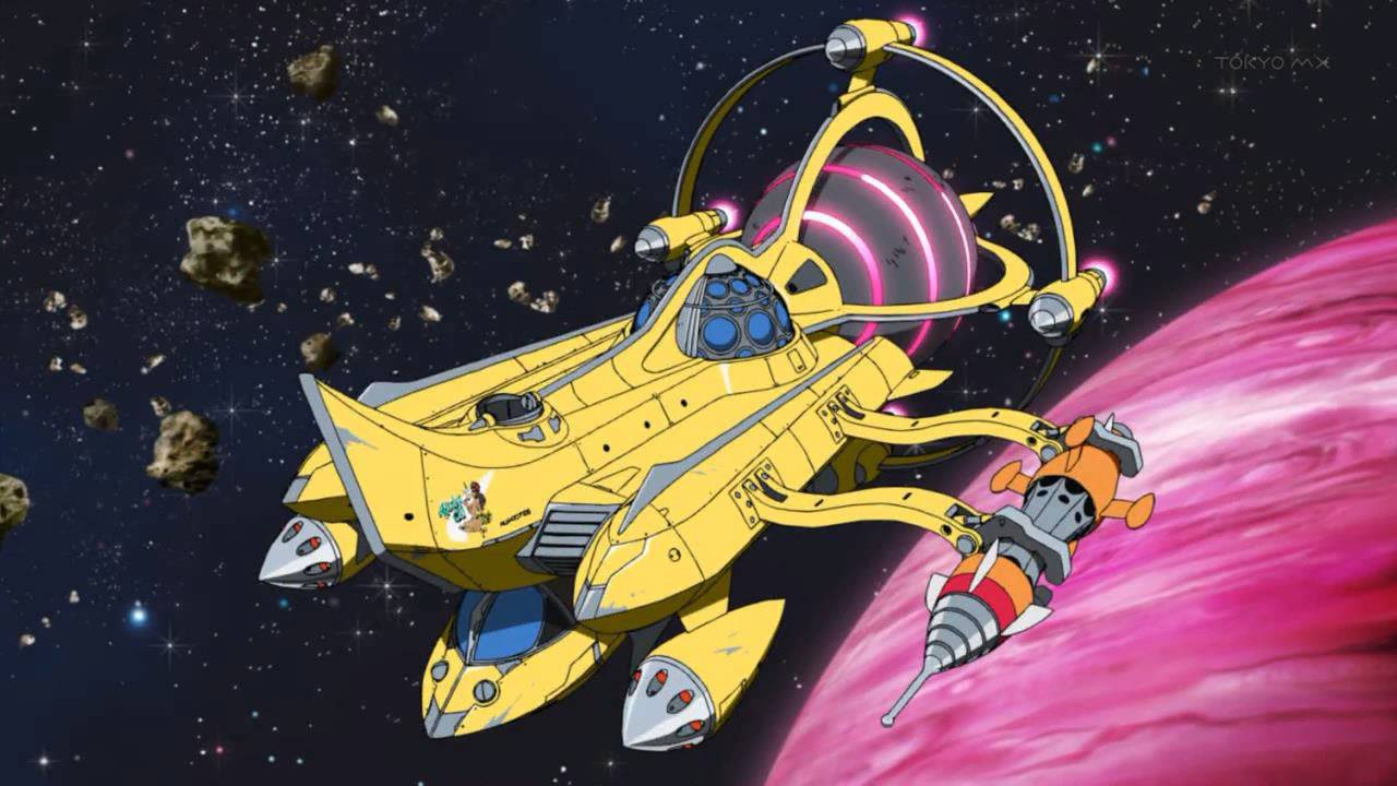 Space Dandy Ship Ship Toonami Space Dandy