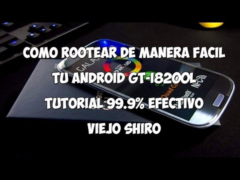 Tutorial ROOT Android GT-I8200L [99.9% EFECTIVO][ACTUALIZADO 2015/FEBRERO]