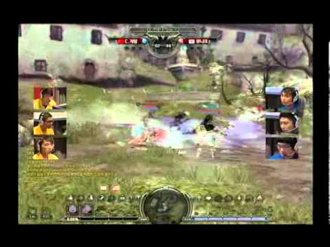 Dragon Nest PVP Tournament 2012: Korea Vs China