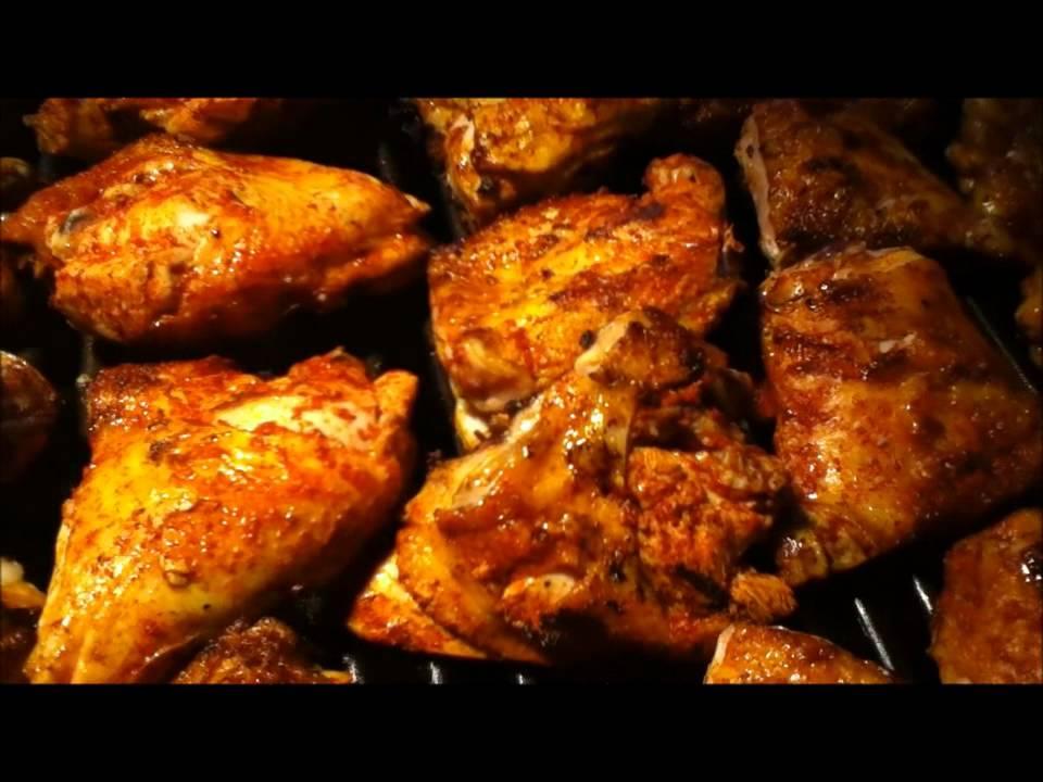 Pollos asados al carbon - YouTube