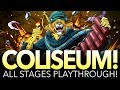 COLISEUM PEDRO! STAGES 1 - 3 PLAYTHROUGH! 4x Teams! (One Piece Treasure Cruise - Global)