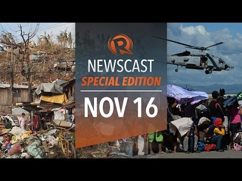 Rappler Newscast Special Edition: Haiyan, relief operations, evacuees