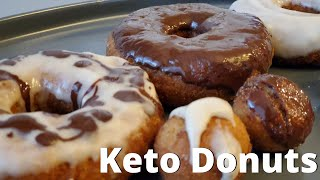 Amazing Keto Donuts │The Best Low Carb Cake Donuts │Simple Keto Recipes