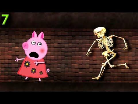 Мультики Свинка пеппа новые серии НАПАДЕНИЕ  7 серия Мультфильмы Свинка Пеппа
