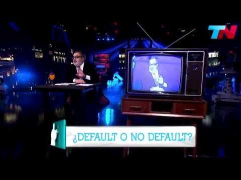 Lanata explica qué es el Default (PPT) 03/08/2014