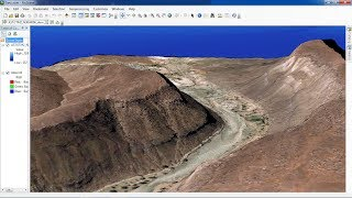 ArcGis ArcScene Displaying terrain surfaces in 3D