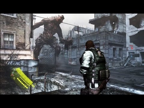 Resident Evil 6: Captulo 2 completo - Chris Redfield Gameplay