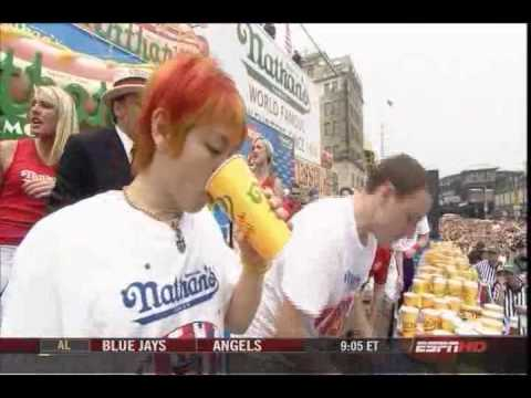Nathan s Hot Dog Eating Contest 2008