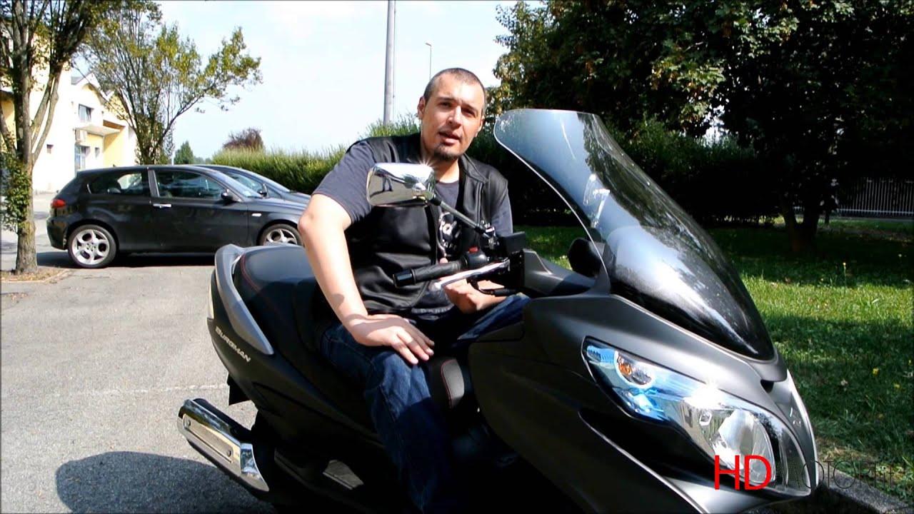 Burgman 400 lux test ride da youtube for 500x hdmotori