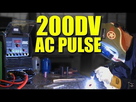 🔥 AC Welding: Pulse vs. No Pulse | Everlast PowerTIG 200DV Review