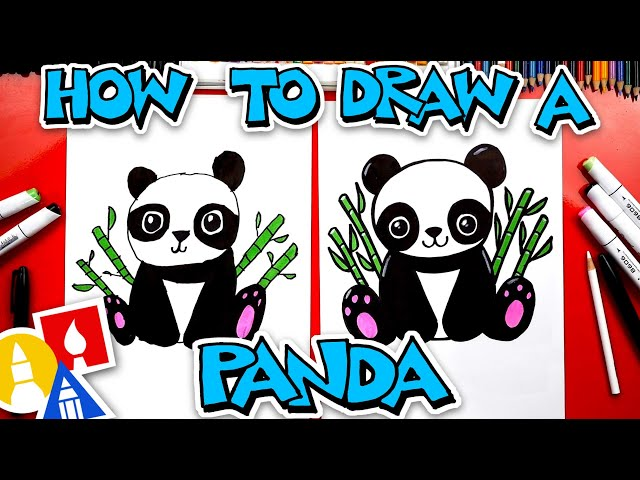Play this video How To Draw A Panda
