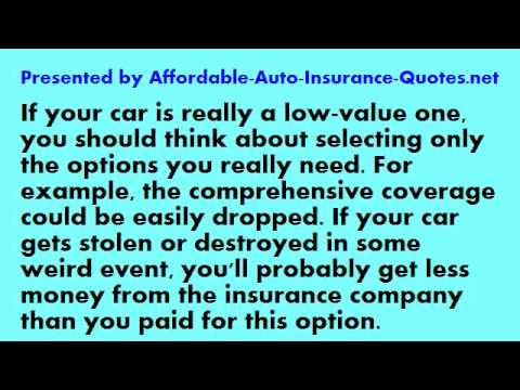Affordable Auto Insurance - Tip #28