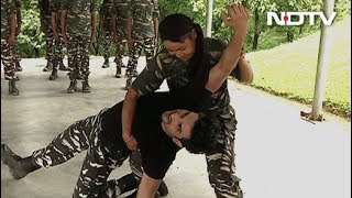Jai Jawan: Women CRPF Squad Wows Sushant Singh Rajput With Self Defence Techniques
