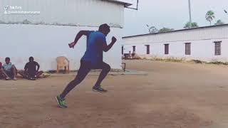 100 miters running