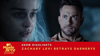 "Zachary Levi Betrays Daenerys in ""Game of Thrones"" 