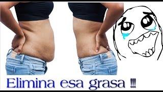 Eliminar grasa del vientre con solo dos gotitas de este remedio casero!! - Quitar grasa abdominal