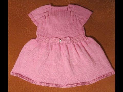 Вязание на девочку платье 719