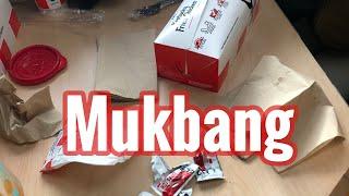 Taco Bell 🌮 / KFC 🍗 Mukbang + | New York slang |