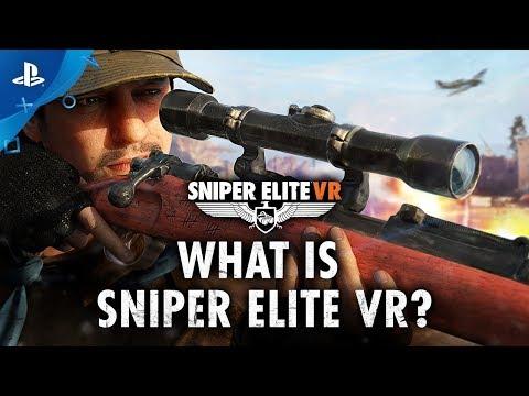 Sniper Elite VR - E3 2019 What is Sniper Elite VR? | PS VR