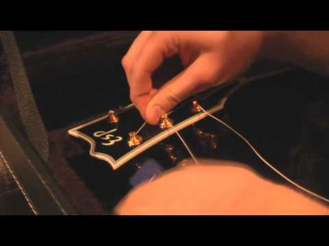 How to change strings with Gotoh Magnum Tuners
